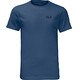 Jack Wolfskin Essential - Camiseta manga corta Hombre - azul